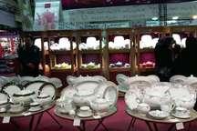 پنجمین نمایشگاه ملزومات جهیزیه در قزوین گشایش یافت
