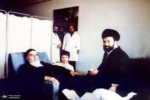 دو عکس از سالروز بسترى شدن امام در بیمارستان قلب شهید رجایى