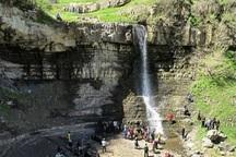 آبشارهای طبیعی گرمی مغان مغفول مانده اند