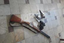 دستگیری شکارچی پرنده در طارم سفلی قزوین