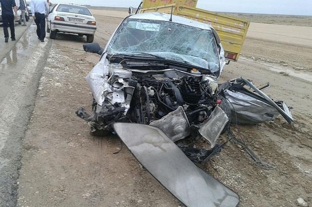 سوانح رانندگی در کهگیلویه وبویراحمد 11مصدوم برجا گذاشت