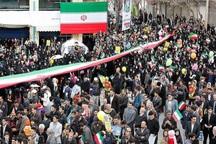 تجلی وحدت و غیرت در راهپیمایی 22 بهمن آذربایجان غربی