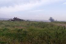 تار و مار تروریست های چینی در کمین ارتش سوریه