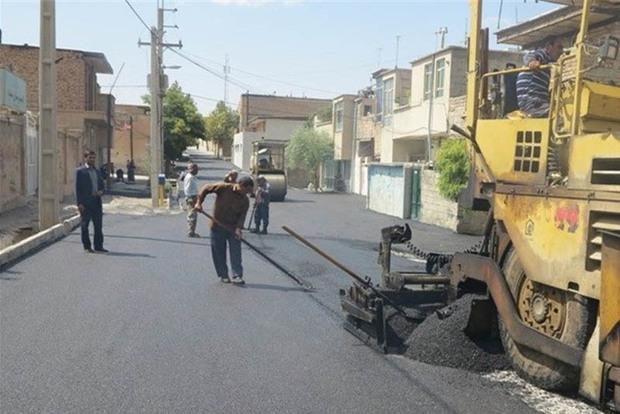 عمر مفید آسفالت معابر شهر زنجان 5 سال است