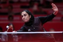 اولین پیروزی پینگ پنگ بانوان ایران در بازیهای آسیایی