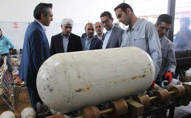 افتتاح اولین مرکز تست هیدوراستاتیک مخازن CNG خودروها در آذربایجان غربی