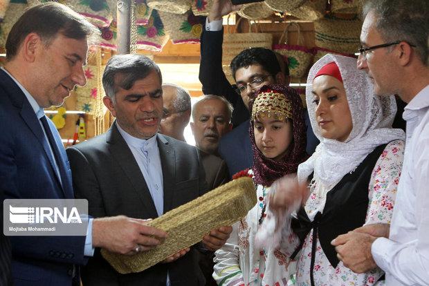 اشتغال بیش از ۲۴ هزار نفر از ساکنان روستاهای گیلان به صنایعدستی