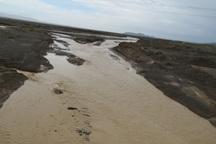 سیلاب به زیرساخت های زیرکوه خسارت زد