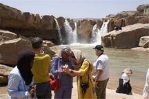 گردشگران خارجی از مناطق دیدنی چهارمحال و بختیاری دیدن کردند