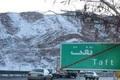 بارش نخستین برف زمستانی در استان یزد  ثبت 16 سانتیمتر برف در دره شیر تفت
