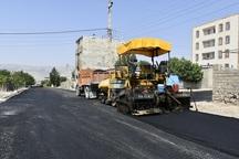۲۲۰ هزار متر مربع آسفالت در یاسوج اجرا شد