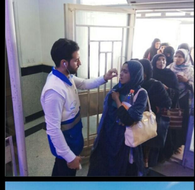 3 هزار زائر پاکستانی در مرز میرجاوه خدمات سلامت دریافت کردند