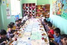 ارایه غذای گرم به 2 هزار و 112 کودک در مهدهای روستایی قزوین