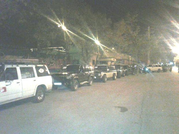 اعزام 30 خودرو دو دیفرانسیل همدان برای امدادرسانی به زلزلهزدگان
