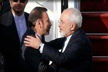 ظریف: با محمود واعظی دوستی 40 ساله دارم/ او مثل برادر به من نزدیک است