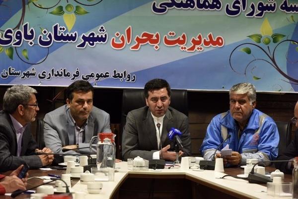 البرز عهده دار امداد و خدمات رسانی به شهرستان باوی خوزستان شد