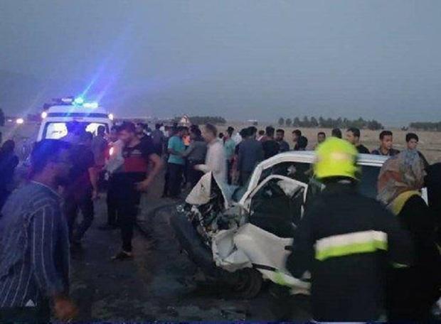 تصادف در دشتی بوشهر7 کشته و زخمی بجا گذاشت