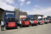نخستین محموله کمک های آموزش وپرورش تهران به خوزستان ارسال شد
