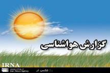 رطوبت بالای 85 درصد در سه نقطه خوزستان