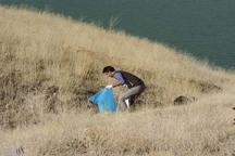 بیش از 10 تن زباله از منطقه سد کلان پاکسازی شد