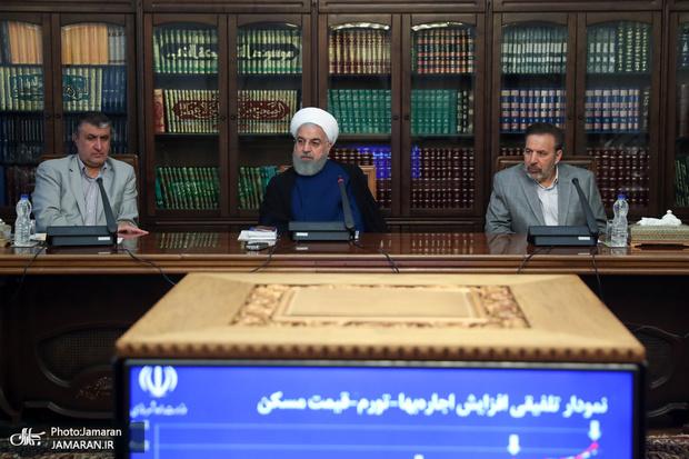 تصاویر/ نشست مدیران ارشد بخش مسکن با رئیس جمهور
