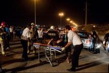 تصادف زنجیره ای در محور بوکان - مهاباد 10 زخمی برجاگذاشت