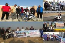 طرح نشاط اجتماعی در روستاهای بخش مرکزی کنگان اجرا شد