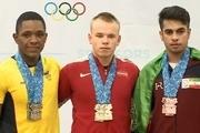 اولین مدال ایران در جوانان جهان/ سلطانی برنز گرفت
