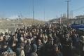 مراسم تشییع یکی از شهدای حادثه تروریستی خاش-زاهدان در الیگودرز