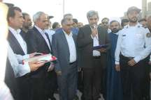 عملیات اجرایی طرح بندر جدید تجاری ریگ بوشهر آغاز شد