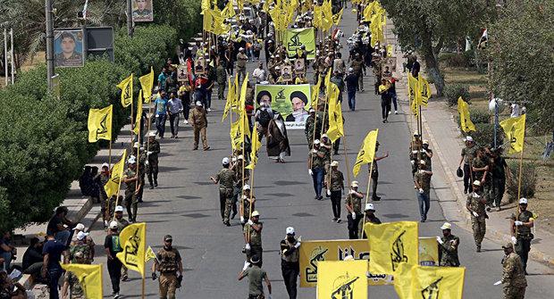 حمله پهپادهای ناشناس به یک پادگان الحشد الشعبی عراق