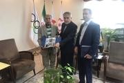 وسایل مرحوم عطاءلله بهمنش به موزه ملی ورزش اهدا شد