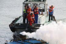 شناورهای بندر آستارا مهار آلودگی نفتی را تمرینکردند