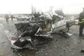 تصادف زنجیره ای در جاده یاسوج اصفهان پنج مصدوم بر جا گذاشت
