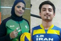 دو بازیکن والیبال نشسته گنبد به اردوی تیم ملی دعوت شدند