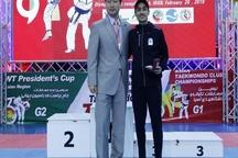 تکواندوکار گیلانی فنیترین بازیکن جام شد  قهرمانی دانشگاه آزاد اسلامی در پایان مسابقات