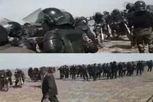 ماموران انتظامی مانع اقدام تخریبی درتاسیسات انتقال آب در شرق اصفهان شدند