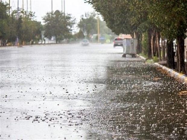 90 میلی متر بارش در استان البرز ثبت شد