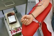 همدانی ها 483 واحد خون اهدا کردند
