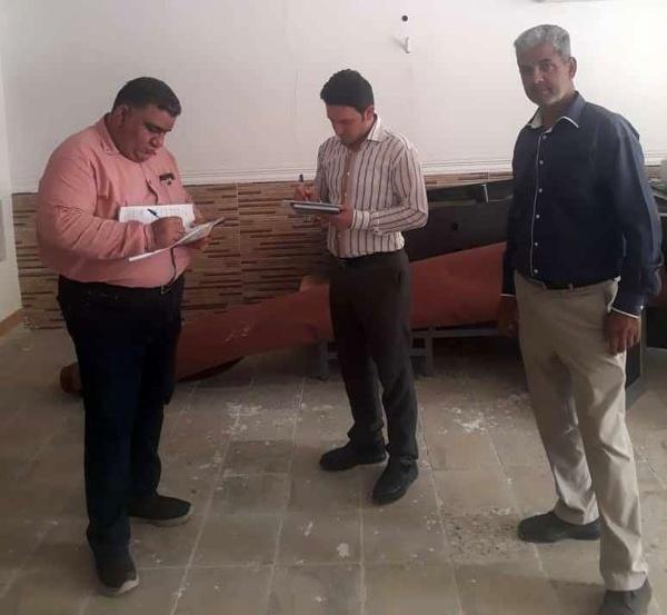 آغاز عملیات بررسی و برآورد خسارات سیل در شهرستان حمیدیه