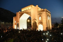 یاد آر ز شمع خفته یاد آر، یادمان جان باختگان سیل شیراز در دروازه قرآن