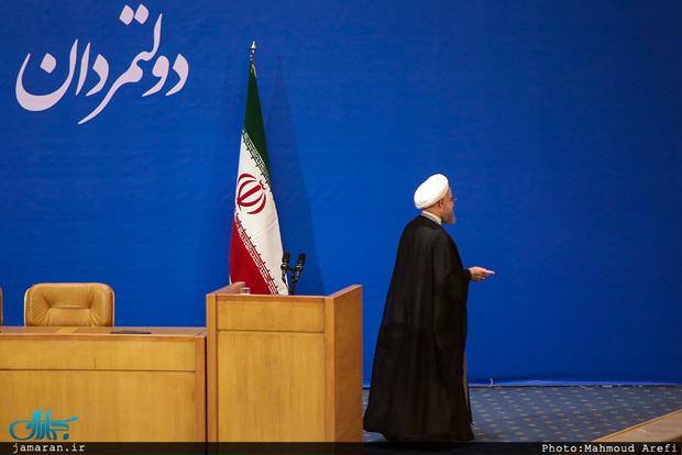 روحانی سمنان را به مقصد تهران ترک کرد