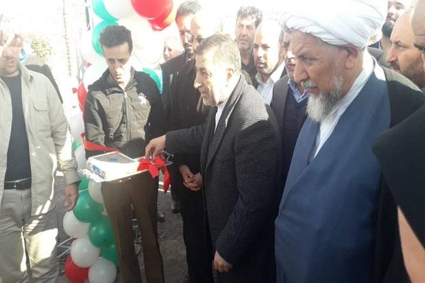 یک کارخانه آسفالت با حضور وزیر دادگستری در قزوین افتتاح شد
