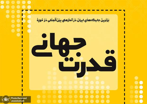 برترین جایگاه های ایران در آمارهای بین المللی در حوزه قدرت جهانی