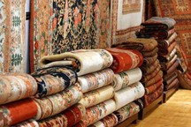 گره فرش ماشینی بر دار قالی ایرانی