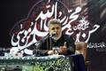 مداحی حاج محسن طاهری در مراسم سوگواری آخر ماه صفر در حسینیه جماران+صوت