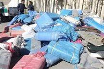 بیش از پنج میلیارد ریال کالای قاچاق در کردستان کشف و ضبط شد