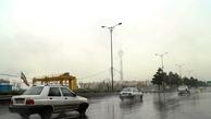 جادههای مازندران بارانی و مه آلود است