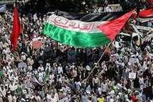 روز قدس پیام استواری ایران اسلامی در دفاع از حق مظلوم در بردارد