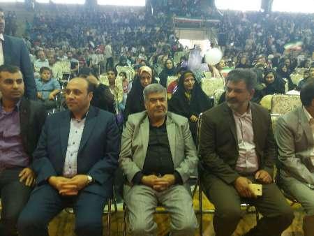 جشن پیروزی انتخاب روحانی در قرچک برگزار شد